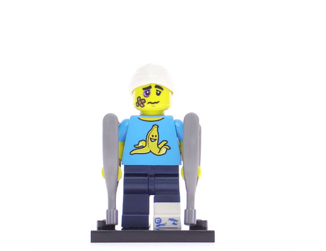 Lego Series 15 Minifigure - Clumsy Guy