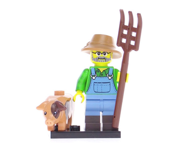 Lego Series 15 Minifigure - Farmer