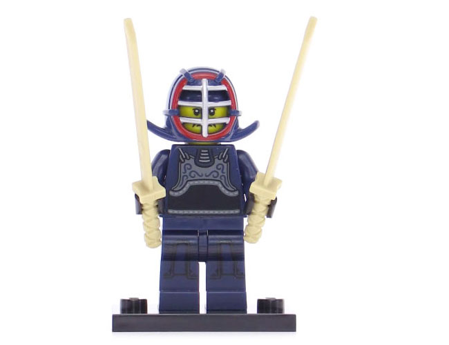 Lego Series 15 Minifigure - Kendo Fighter