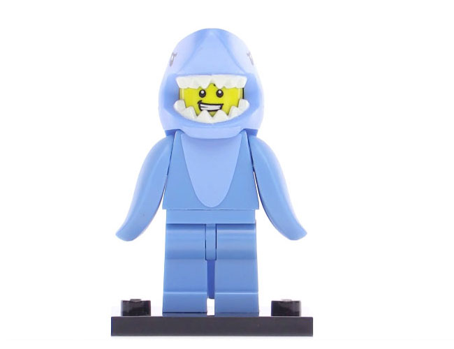 Lego Series 15 Minifigure - Shark Suit Guy