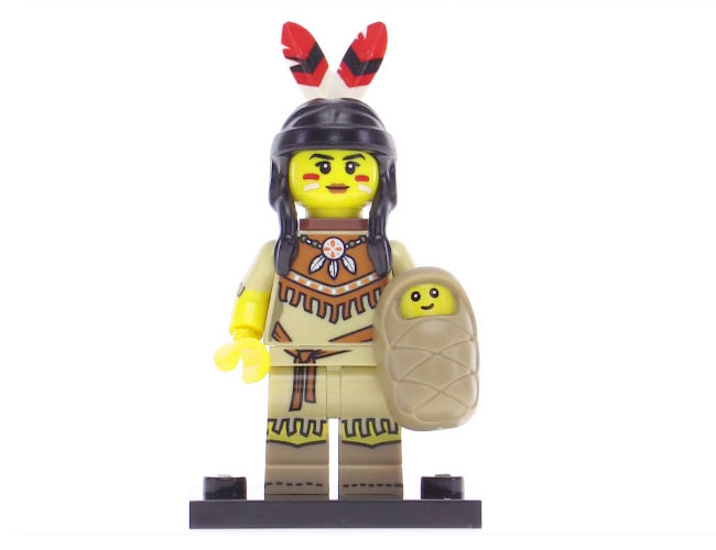 Lego Series 15 Minifigure - Tribal Woman